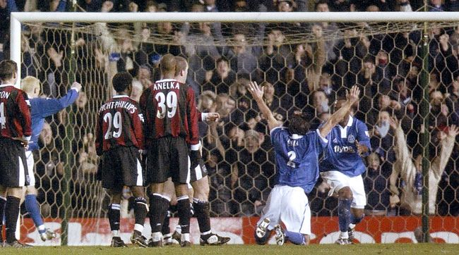 leicester away 2003 to 04 leicester equaliser