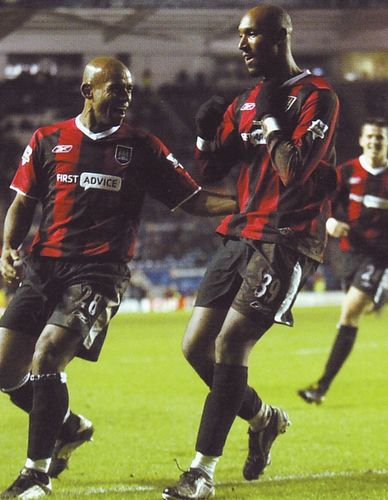 leicester away fa cup anelka goal