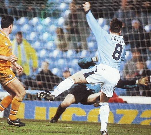 leicester home fa cup 1995 to 96 creaney goal