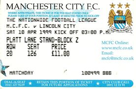 lincoln home 1998 to 99 ticket