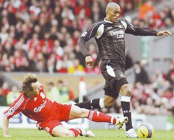 liverpool away 2006 to 07 action3