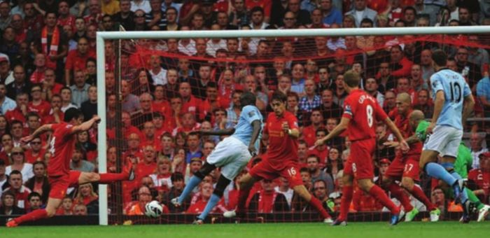 liverpool away 2012 to 13 yaya goal