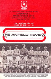 liverpool away fa cup 1972 to 73 prog