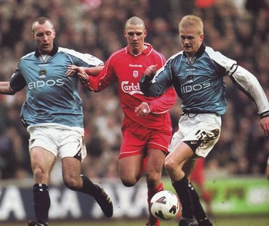 liverpool away fa cup 2000 to 01 action