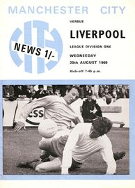 liverpool home 1969-70 programme