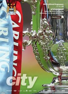 liverpool home carling cup 2011 to 12 prog