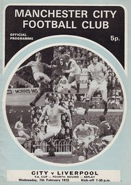 liverpool home fa cup 1972 to 73 prog