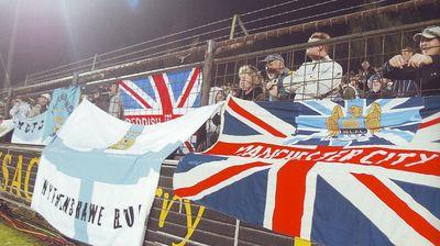 lokeren away 2003 to 04 fans