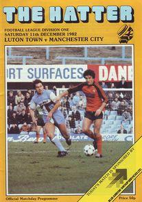luton away 1982 to 83 prog
