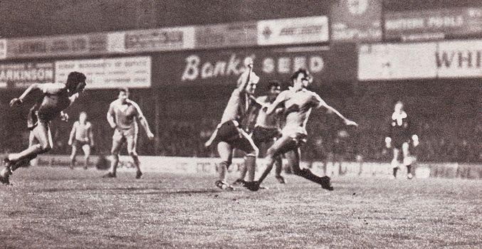 luton away league cup 1977 to 78 luton r futcher goal
