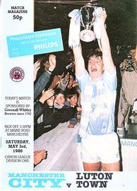 luton home  1985 to 86 prog