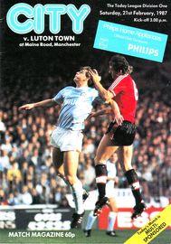 luton home 1986 to 87 prog