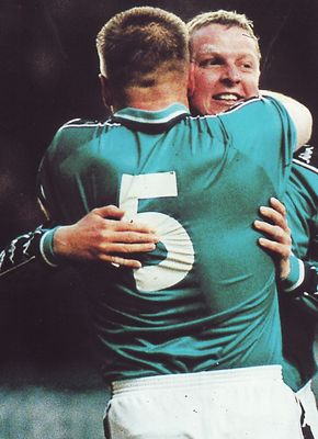 luton home 1998 to 99 vaughan goal