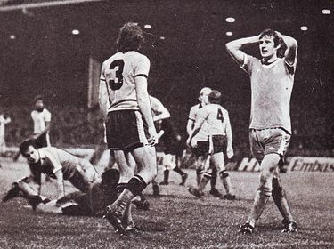 luton home league cup replay 1977 to 78 action