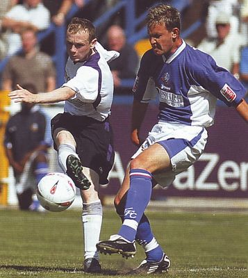 macclesfield away 2005 to 06 action