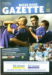 macclesfield away 2005 to 06 prog