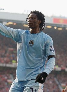 man u away 2007 to 08 benjani goal 2