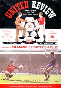 man united away 1986 to 87 prog