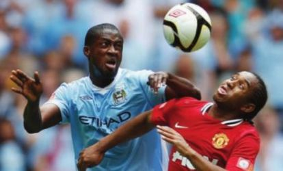 man united charity shield 2011 to 2012 action
