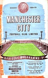 man united home 1958 to 59 prog