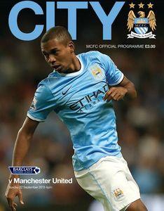 Manchester City v Manchester United 2013/14
