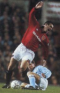 man utd away 1994 to 95 action