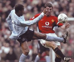 man utd away 2003 to 04 action