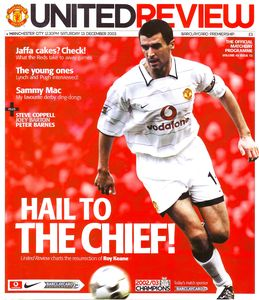 man utd away 2003 to 04 prog