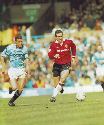 man utd home 1992 to 93 action