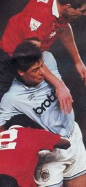 man utd home 1993 to 94 action