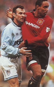 man utd home 1994 to 95 action