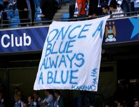 man utd home 2006-07 fans banner