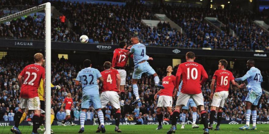 man utd home 2011 to 12 kompany goal