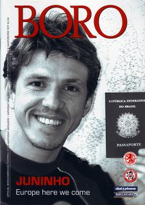 middlesbrough away 2003 to 04 prog