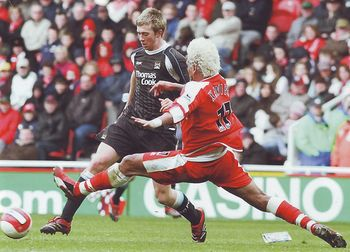 middlesbrough away 2006 to 07 action