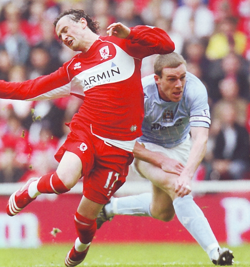 Middlesbrough away 2007 to 08 action3