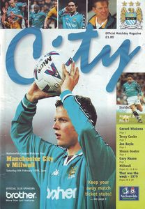 millwall home 1998 to 99 prog