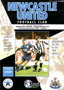 newcastle away 1994 to 95 prog
