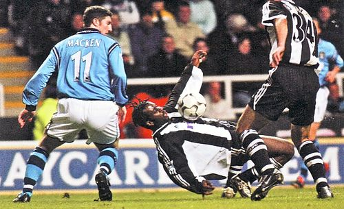 newcastle away 2002 to 03