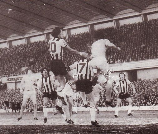 newcastle fa cup 1976 to 77 action