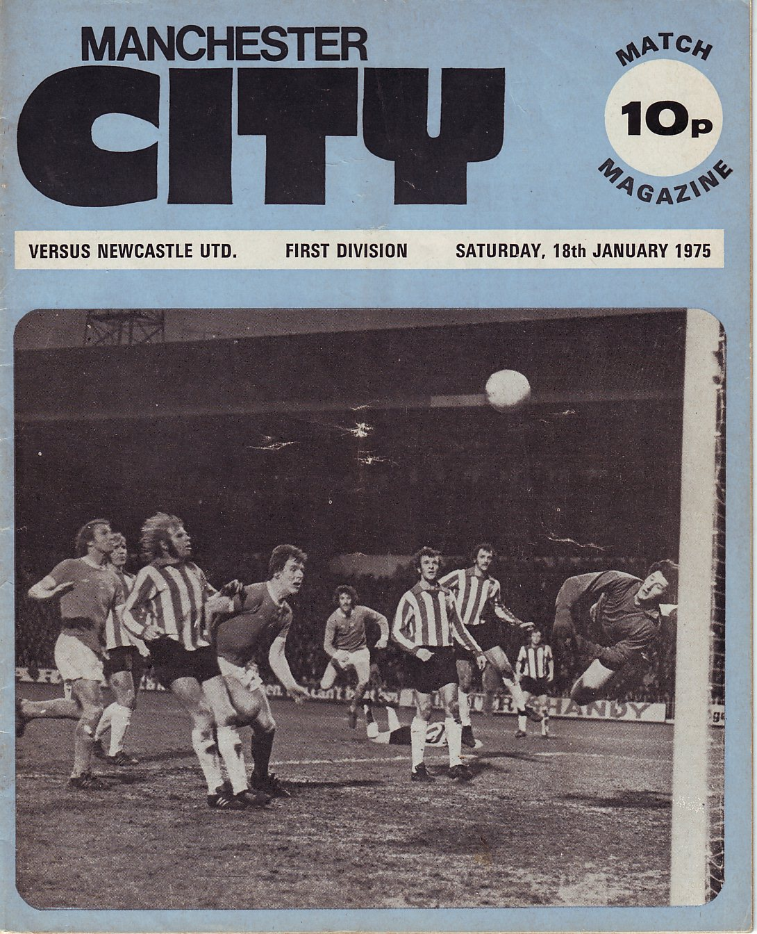 newcastle home 1974 to 75 prog