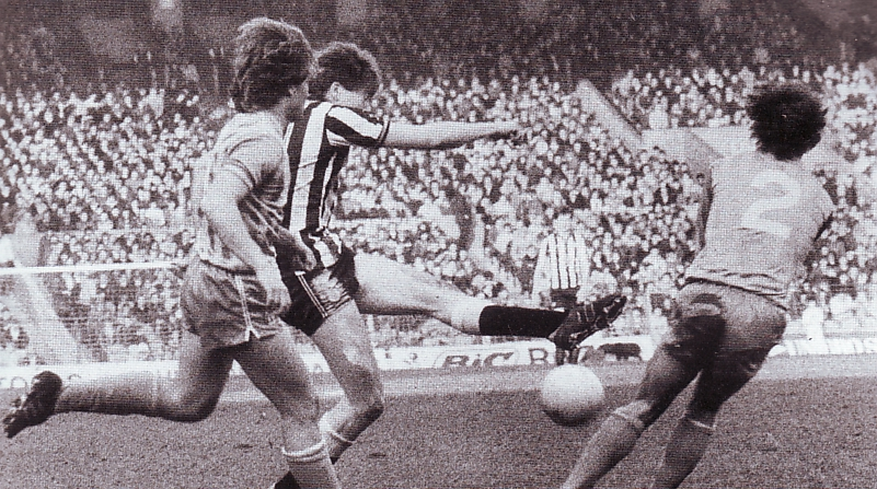 newcastle home 1983 to 84 action
