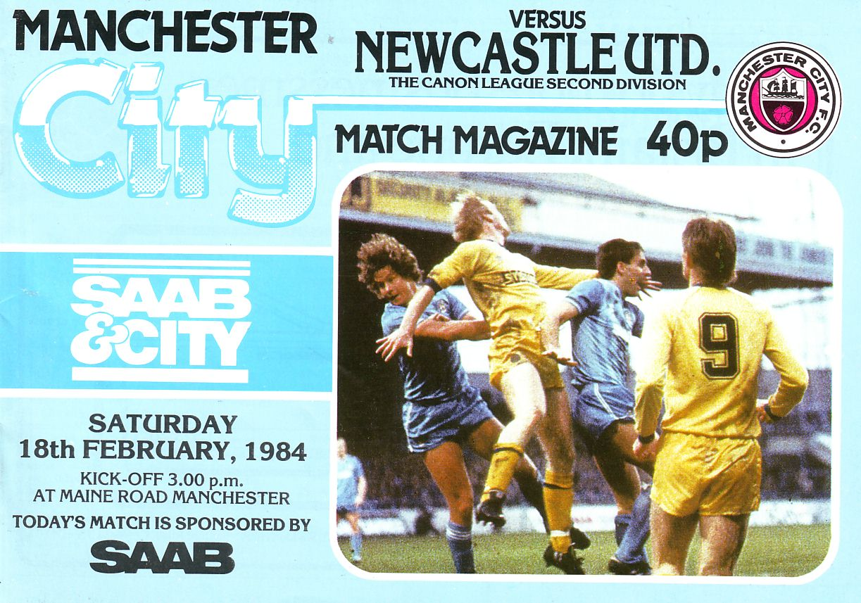newcastle home 1983 to 84 prog