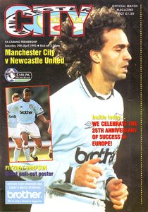 newcastle home 1994 to 95 prog