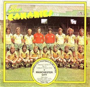 norwich away 1976 to 77 prog