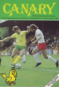 norwich away 1982 to 83 prog
