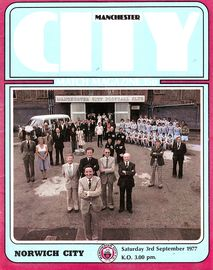 norwich home 1977 to 78 prog