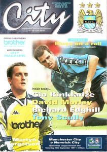 norwich home 1997 to 98 prog