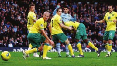norwich home 2011 to 12 aguero goal