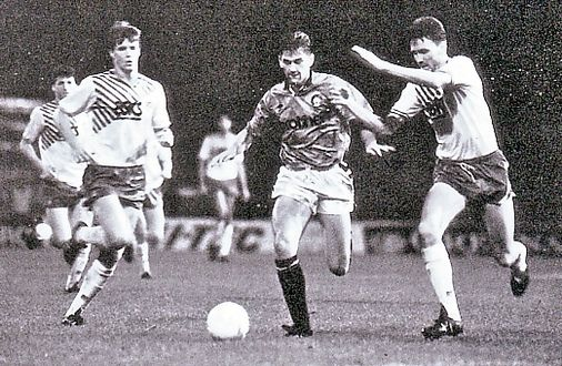 norwich league cup 1989 to 90 action